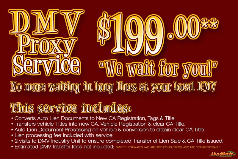 dmv title services. Black Bedroom Furniture Sets. Home Design Ideas